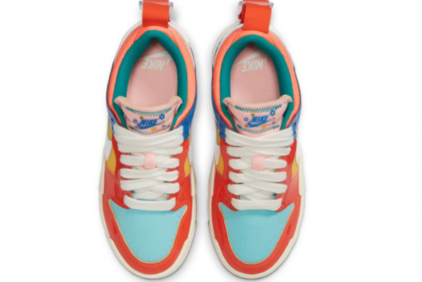 New Nike Wmns Dunk Low Disrupt Kid at Heart 2021 For Sale DJ5063-414 -3