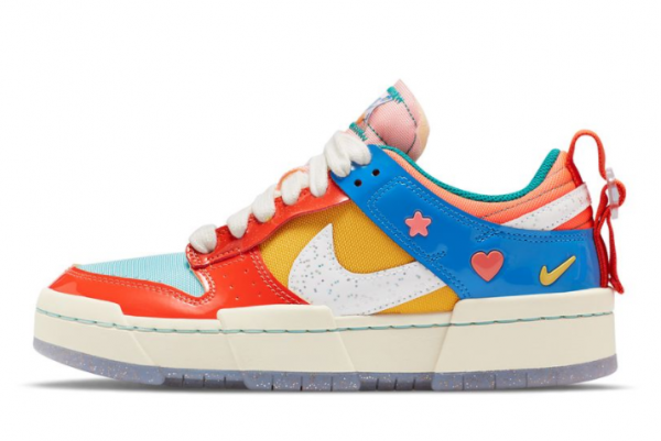 New Nike Wmns Dunk Low Disrupt Kid at Heart 2021 For Sale DJ5063-414