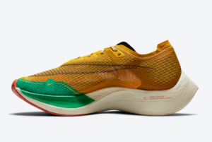 New Nike ZoomX VaporFly NEXT% 2 Yellow/Green-Red DJ5182-700
