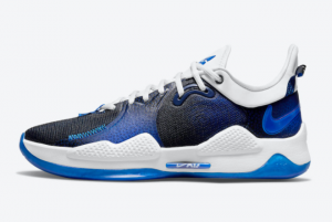 New Playstation x Nike PG 5 PS5 Blue 2021 For Sale CW3144-400