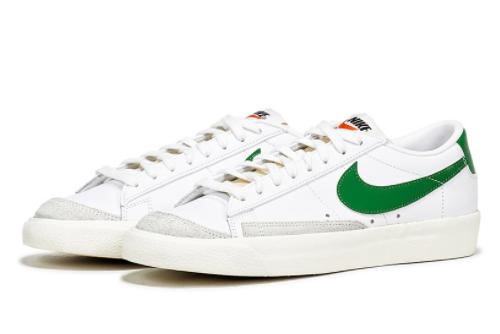 New Release Nike Blazer Low '77 Vintage Green/White-Black DA6364-115-1