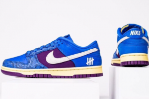 New Undefeated x Nike Dunk Low Blue/Purple 2021 For Sale DH6508-400