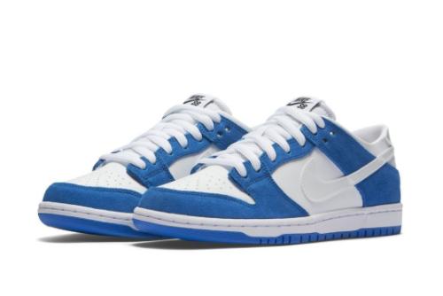 Nike SB Dunk Low Pro Ishod Wair Blue Spark Men's Sneakers 819674-410-2