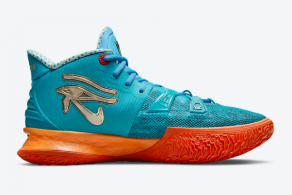 Top Concepts x Nike Kyrie 7 Horus CT1135-900 Basketball Sneakers For Sale-1