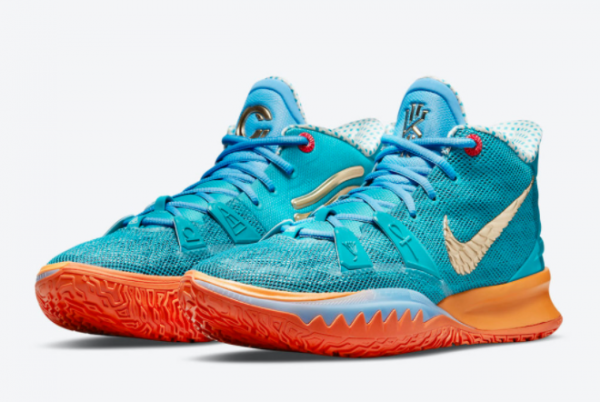 Top Concepts x Nike Kyrie 7 Horus CT1135-900 Basketball Sneakers For Sale-2