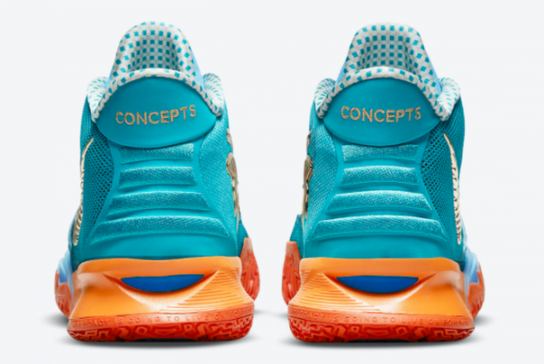Top Concepts x Nike Kyrie 7 Horus CT1135-900 Basketball Sneakers For Sale-3