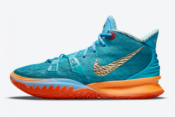 Top Concepts x Nike Kyrie 7 Horus CT1135-900 Basketball Sneakers For Sale