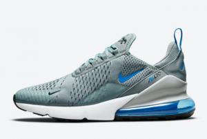 Cheap Nike Air Max 270 Steel Blue Grey Blue 2021 For Sale DN5465-001