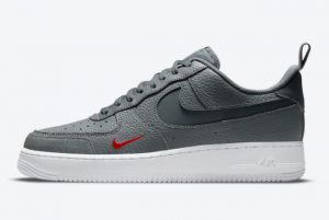 Cheap Nike Air Force 1 Low Grey Rubicund White 2021 For Sale DN4433-001