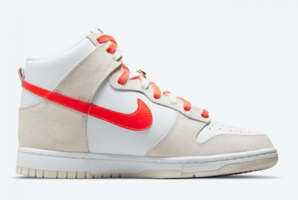 Cheap Nike Dunk High First Use White Grey-Orange 2021 For Sale DH6758-100-1