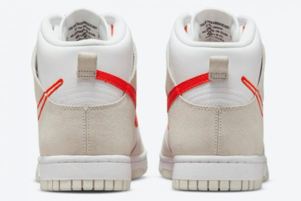 Cheap Nike Dunk High First Use White Grey-Orange 2021 For Sale DH6758-100-3
