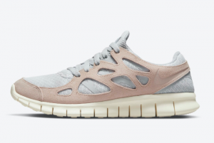Cheap Nike Free Run 2 Fossil Stone Pure Platinum Fossil Stone-Wolf Grey 2021 For Sale 537732-013