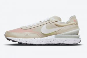Cheap Nike Waffle One Crater Cream Pink 2021 For Sale DC2650-200