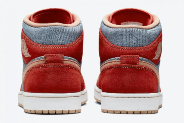 Latest nike low cord shoes us size women wear jeans suits Mid Denim 2021 For Sale DM4352-600-3
