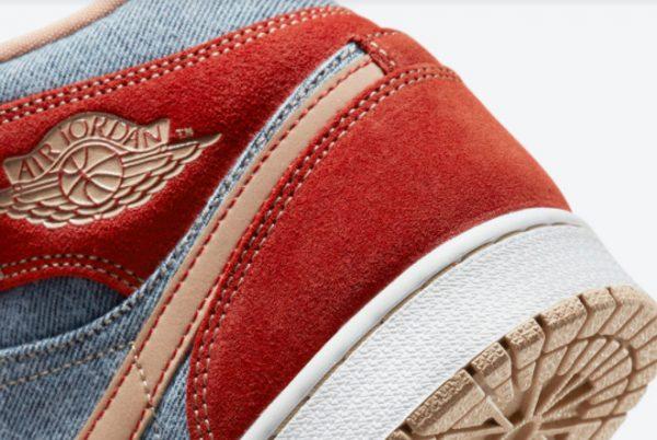 Latest nike low cord shoes us size women wear jeans suits Mid Denim 2021 For Sale DM4352-600-4