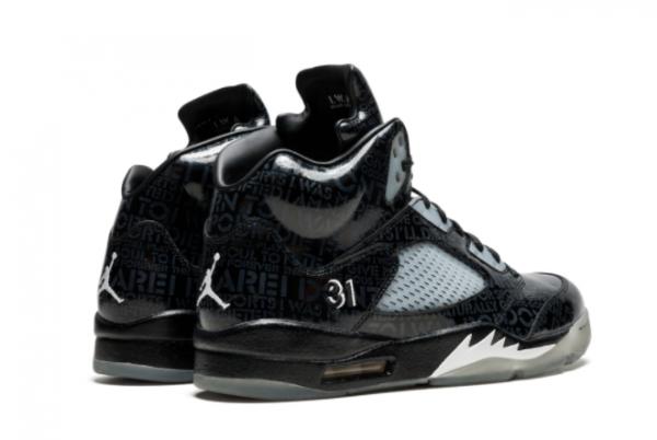 Latest Air Jordan 5 Doernbecher Black White-Black 2021 For Sale 633068-010-2