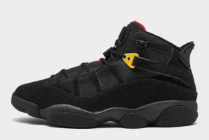 Latest Jordan 6 Rings Last Shot Black University Red-Dark Sulfur 2021 For Sale 322992-065