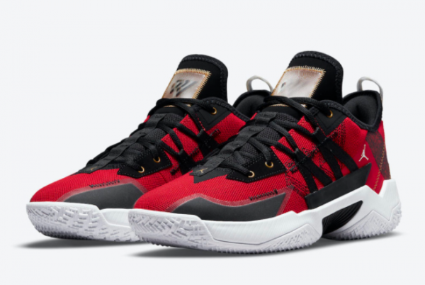 Latest Jordan Westbrook One Take II Black Red 2021 For Sale CW2457-607 -2