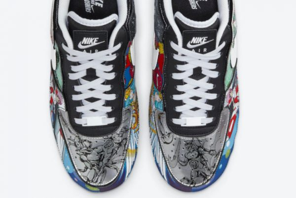 Latest Nike Air Force 1/1 Mighty Swooshers 2021 For Sale DM5441-001-3