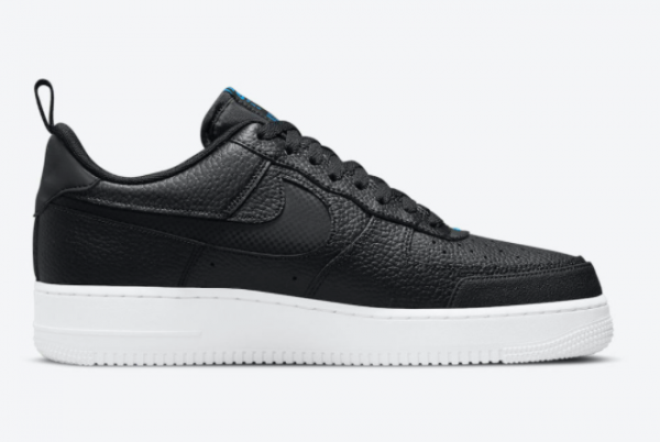 Latest Nike Air Force 1 Low Black Blue 2021 For Sale DN4433-002-2