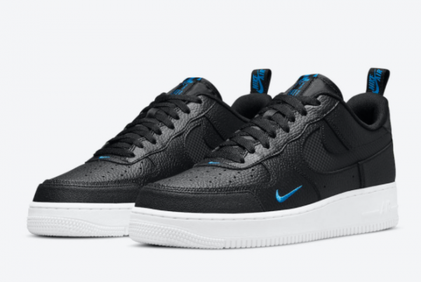 Latest Nike Air Force 1 Low Black Blue 2021 For Sale DN4433-002-1