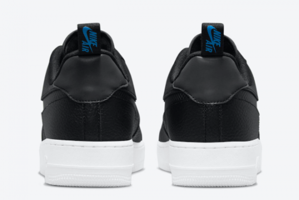 Latest Nike Air Force 1 Low Black Blue 2021 For Sale DN4433-002-3