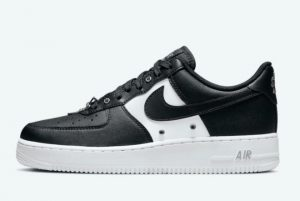 Latest Nike Air Force 1 Low Black White 2021 For Sale DA8571-001