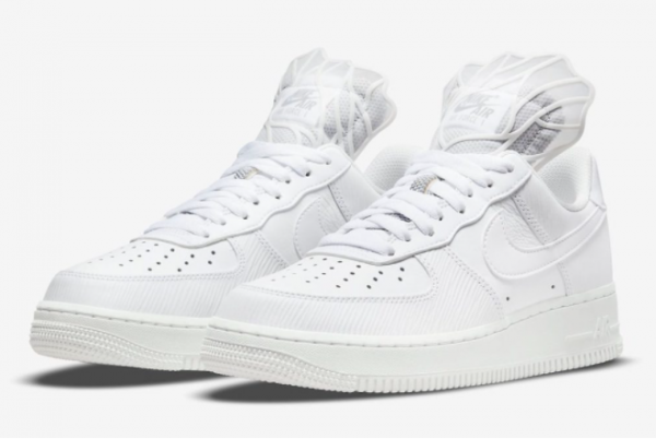 Latest Nike Air Force 1 Low Goddess of Victory White Summit White-Photon Dust 2021 For Sale DM9461-100 -2