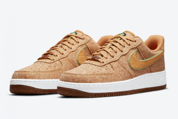 Latest Nike Air Force 1 Low Happy Pineapple Multi-Color Metallic Gold Flux Lime Glow 2021 For Sale DJ2536-900-2