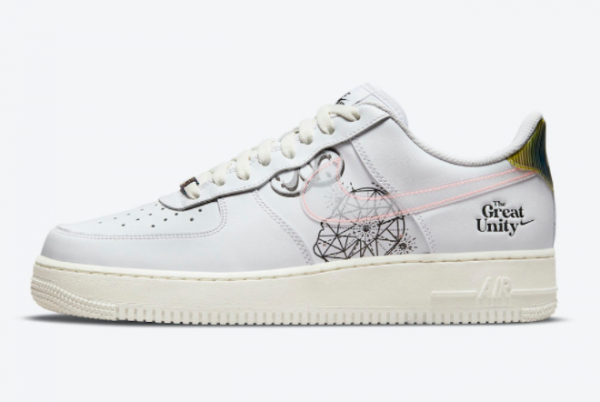 Latest Nike Air Force 1 Low The Great Unity 2021 For Sale DM5447-111