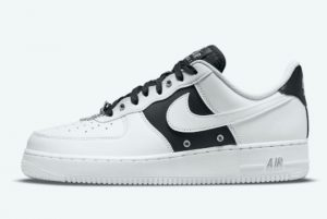 Latest Nike Air Force 1 Low White Black 2021 For Sale DA8571-100