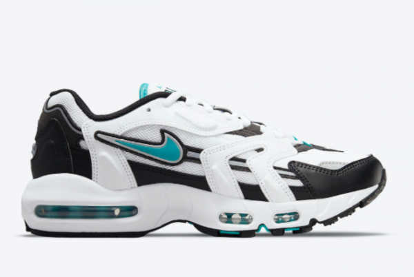 Latest Nike Air Max 96 II Mystic Teal White Mystic Teal-Black-Reflect Silver 2021 For Sale CZ1921-101 -1