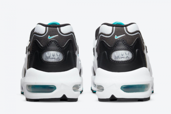 Latest Nike Air Max 96 II Mystic Teal White Mystic Teal-Black-Reflect Silver 2021 For Sale CZ1921-101 -3