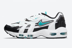 Latest Nike Air Max 96 II Mystic Teal White Mystic Teal-Black-Reflect Silver 2021 For Sale CZ1921-101