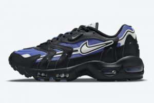 Latest Nike Air Max 96 II Persian Violet Persian Violet White-Black 2021 For Sale DB0251-500