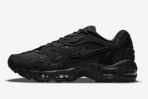 Latest Nike Air Max 96 II Triple Black Black Black-Black 2021 For Sale DJ0328-001