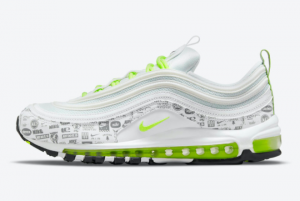 Latest Nike Air Max 97 Reflective Logo 2021 For Sale DH0006-100
