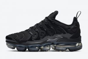Latest Nike Air VaporMax Plus Black/Anthracite 2021 For Sale DH1063-001