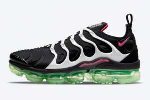 Latest Nike Air VaporMax Plus Black Pink-Green 2021 For Sale DM8121-001