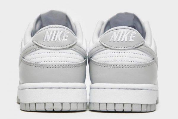 Latest Nike Dunk Low Grey Fog White Grey Fog 2021 For Sale DD1391-103-3