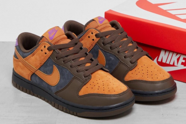 New Nike Dunk Low PRM Cider Off Noir/Cider-Dark Chocolate-Wild Berry 2021 For Sale DH0601-001-1