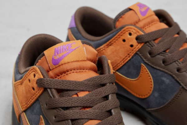 New Nike Dunk Low PRM Cider Off Noir/Cider-Dark Chocolate-Wild Berry 2021 For Sale DH0601-001-2