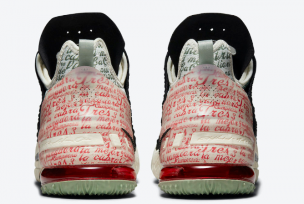 Latest Nike LeBron 18 Goat Black Pale Ivory 2021 For Sale CQ9283-008-3
