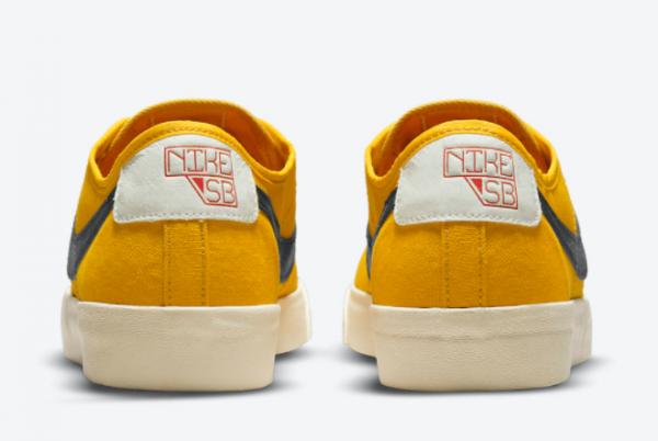 Latest Nike SB BLZR Court DVDL Bright Yellow 2021 For Sale CZ5605-700-2