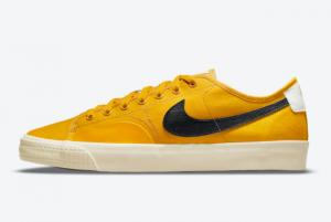 Latest Nike SB BLZR Court DVDL Bright Yellow 2021 For Sale CZ5605-700