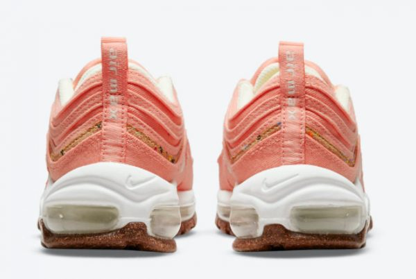 Latest Nike Wmns Air Max 97 Cork Coral Pink 2021 For Sale DC4012-800-3