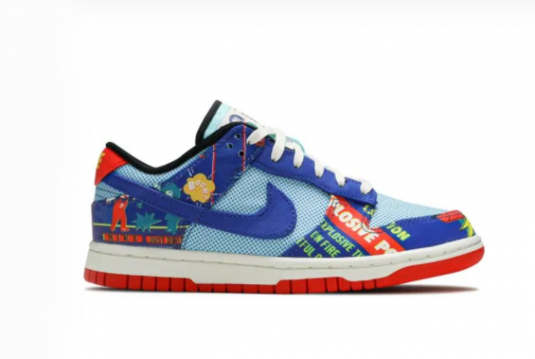 New Giày Nike Dunk Low Chinese New Year Firecracker 2021 For Sale DC3494-995 -1