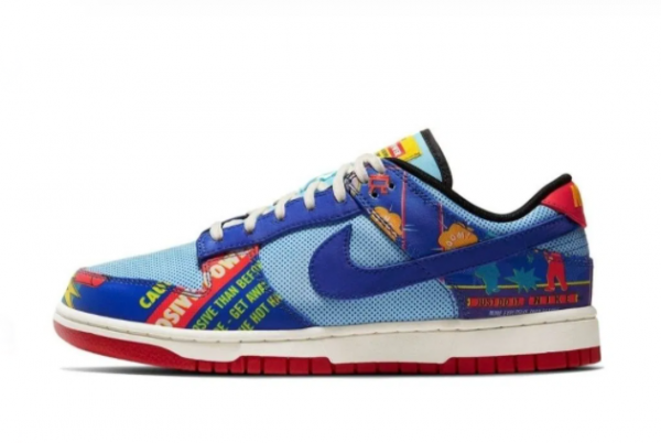 New Giày Nike Dunk Low Chinese New Year Firecracker 2021 For Sale DC3494-995