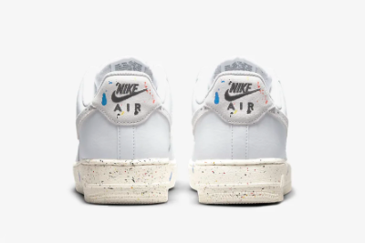 New Nike Air Force 1 '07 LV8 Paint Splatter White/Sail 2021 For Sale CZ0339-100 -3