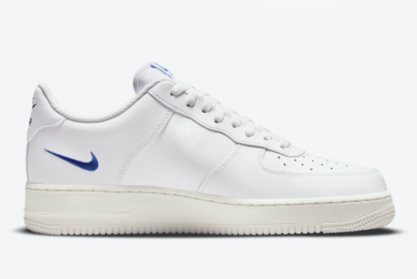 New Nike Air Force 1 Low Multi Swoosh White 2021 For Sale DM9096-101 -3